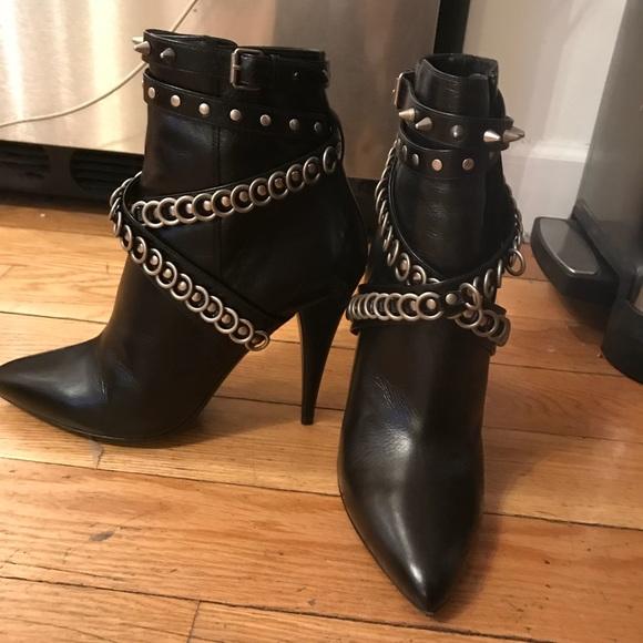 d900139b4c2 Saint Laurent Shoes | Fetish Multi Studded Ankle Boot | Poshmark